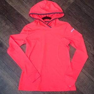 Neon Hooded Workout/Weather Jacket
